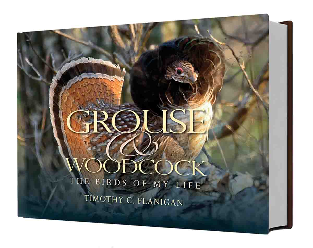 Grouse & Woodcock: The Birds of My Life by Upland Almanac contributing photographer Timothy C. Flanigan is now available from Wild River Press.