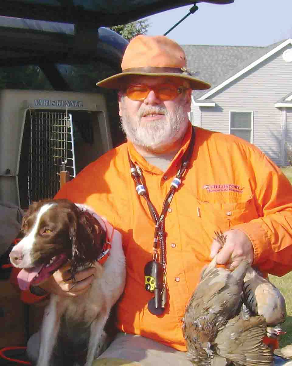 GLEN BLACKWOOD has been active in the classic sporting books world for over 30 years, as a buyer, seller and collector. He is now enjoying a second career as a Regional Director of Development for the Ruffed Grouse Society. He lives in Rockford, Michigan, with his family and Bosco, his English cocker spaniel.