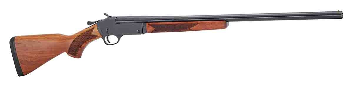 "For young people, several manufacturers produce ""starter"" shotguns like this one, the Youth Single Shot Shotgun from Henry. (Photo/courtesy of Henry Repeating Arms)"