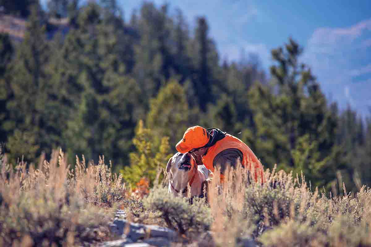 The bond between a hunter and his dog is the foundation for any bird hunt. (Photo/Nolan Dahlberg @dahlbergdigital)